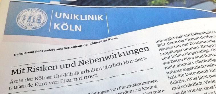 Der Einfluss von Pharmafirmen